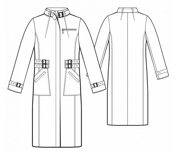 Выкройка женской лёгкой куртки фото 463