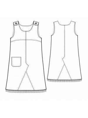 Go to the Выкройки детской одежды category archives. выкройка платья для девочки